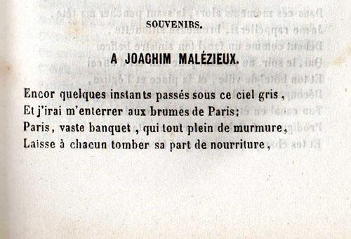 Souvenirs Désiré François Laugée Littérature Papier Poesie