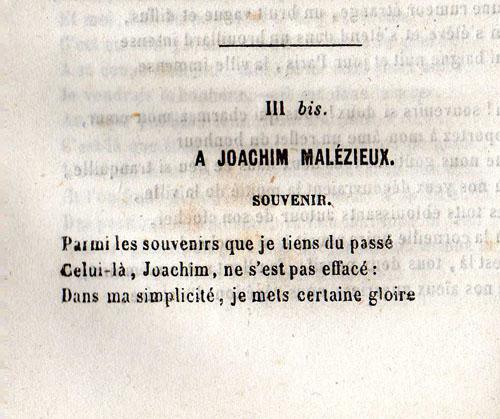 Souvenir à Joachim Malézieux Désiré François Laugée