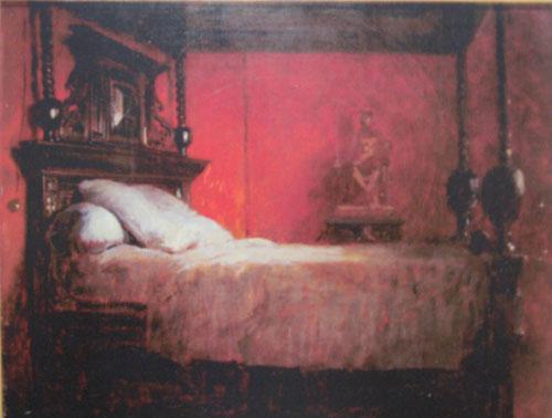 la mort de zurbaran desire francois laugee peintre annexes peintres et sculpteurs. Black Bedroom Furniture Sets. Home Design Ideas